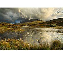 Sgurr nan Gillean. Sligachan. Isle of Skye. Scotland. Photographic Print