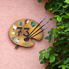 House Number Sign by Yair Karelic