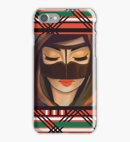 Burqa Beauty iPhone Case/Skin