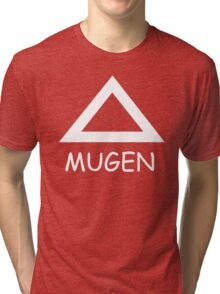 Mugen Symbol Anime Manga Shirt Tri-blend T-Shirt