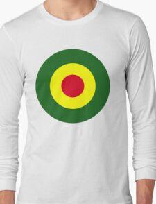 Rasta Mod Target Long Sleeve T-Shirt