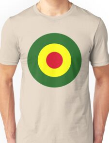 Rasta Mod Target Unisex T-Shirt