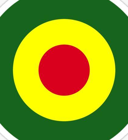 Rasta Mod Target Sticker