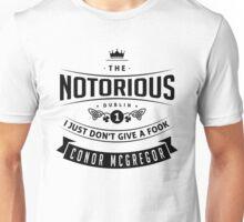 McGregor - I just don't give a fook. Unisex T-Shirt