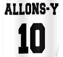 Allons-y - The 10th Doctor Poster