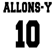 Allons-y - The 10th Doctor Photographic Print
