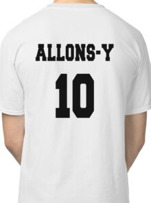 Allons-y - The 10th Doctor Classic T-Shirt
