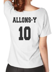 Allons-y - The 10th Doctor Women's Relaxed Fit T-Shirt