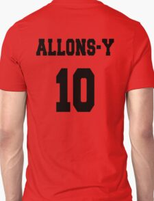 Allons-y - The 10th Doctor T-Shirt