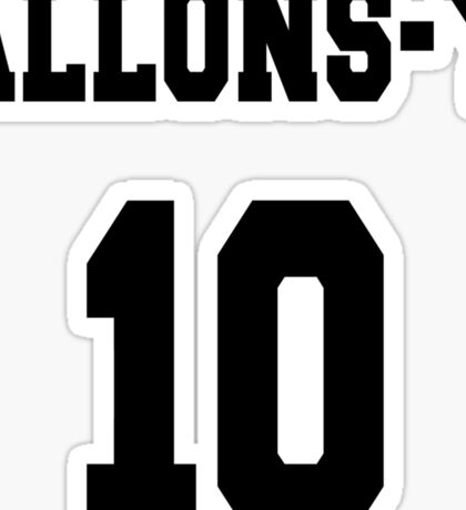 Allons-y - The 10th Doctor Sticker