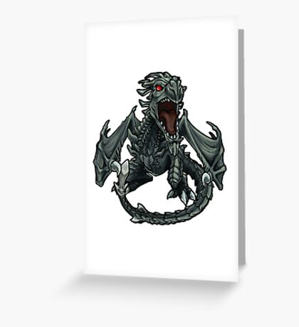 Chibi Dragon Greeting Card