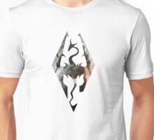 Skyrim Logo Dovakhin Unisex T-Shirt