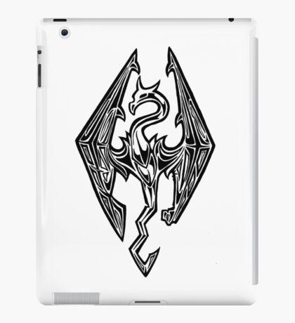 Skyrim Logo Dovah Dragon iPad Case/Skin