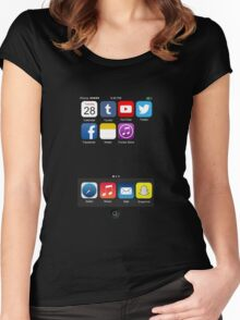The All New iPhone Women's Fitted Scoop T-Shirt