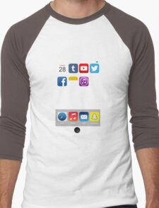 The All New iPhone Men's Baseball ¾ T-Shirt