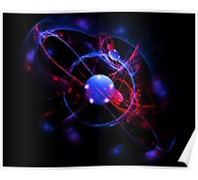 Blue Ball of Energy Poster