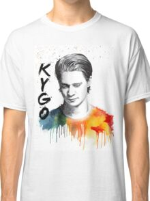 Colorful fanmade portrait of Kygo Classic T-Shirt