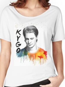 Colorful fanmade portrait of Kygo Women's Relaxed Fit T-Shirt