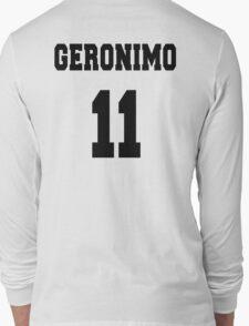 Geronimo - The 11th Doctor Long Sleeve T-Shirt