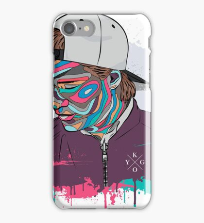 Kygo fanmade drawing in color iPhone Case/Skin