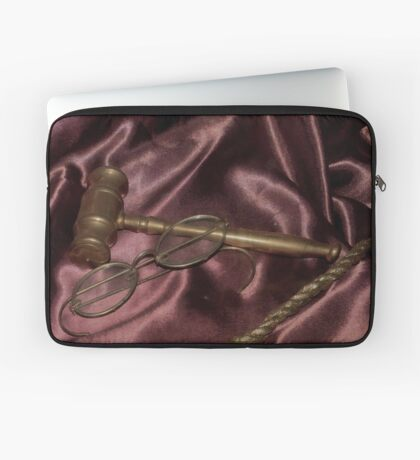 Thru the eyes of Justice Laptop Sleeve