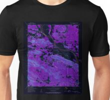 USGS TOPO Map Arkansas AR Pinnacle Mountain 259410 1954 24000 Inverted Unisex T-Shirt