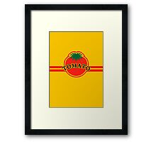 Tomato Convenience Store Logo Framed Print