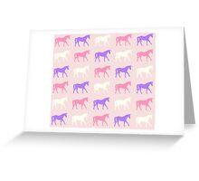 Unicorn Stampede Greeting Card