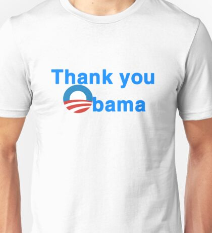 thank you president obama Unisex T-Shirt