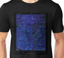 USGS TOPO Map Arkansas AR Mt Pleasant 259184 1942 24000 Inverted Unisex T-Shirt