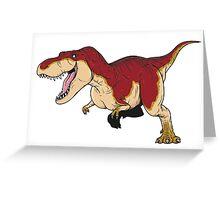 Tyrannosaurus - Paleobeasties 010a Greeting Card