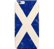 Scottish Flag iPhone Case/Skin