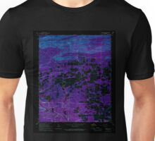 USGS TOPO Map Arkansas AR Bismarck 257996 1966 24000 Inverted Unisex T-Shirt