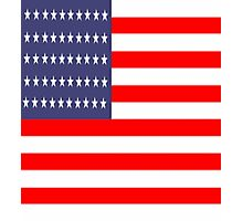 Flag of the United States of America Photographic Print