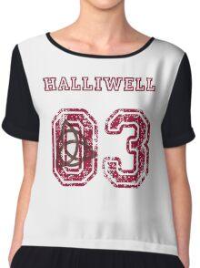 Halliwell Jersey Chiffon Top