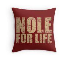 Nole for Life Throw Pillow