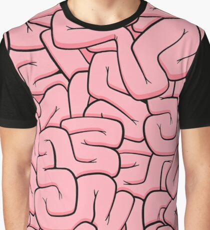 Guts - Pink Graphic T-Shirt