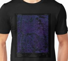 USGS TOPO Map Arkansas AR Landis 258899 1972 24000 Inverted Unisex T-Shirt