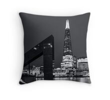 Framing the Shard  Throw Pillow