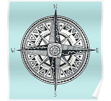 sun compass Poster