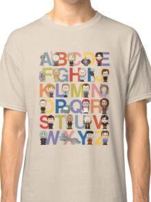 Through the Wormhole Alphabet Classic T-Shirt