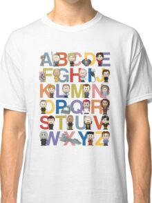 Through the Wormhole Alphabet Classic T-Shirt