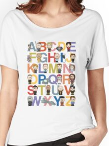 Through the Wormhole Alphabet Women's Relaxed Fit T-Shirt