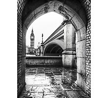 Through the Tunnel Photographic Print