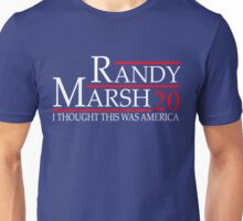 RANDY MARSH 20 I THOUGH THIS WAS AMERICA Unisex T-Shirt