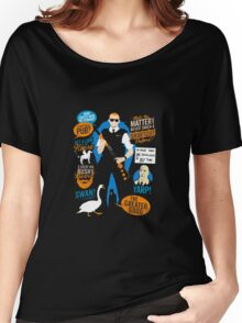 Hot Fuzz Cornetto Trilogy Women's Relaxed Fit T-Shirt