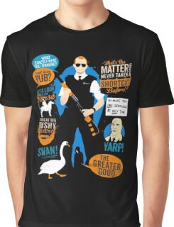 Hot Fuzz Cornetto Trilogy Graphic T-Shirt