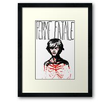 Selling Sins Framed Print