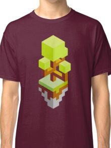 Isometric abstract color tree Classic T-Shirt