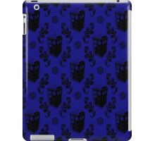 Tardis Flock Pattern iPad Case/Skin